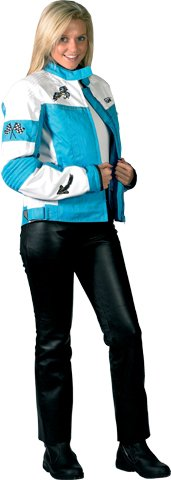 Nouveau 2015 Spada moto Textile veste Lara Ladies Blue/White