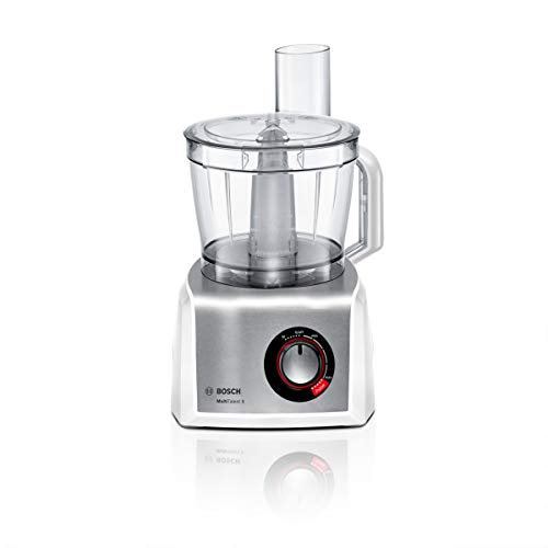 314hD%2BDBllL. SS500  - Bosch MutiTalent8 MC812S734G Food Processor, Plastic, 1200W - White/Stainless Steel