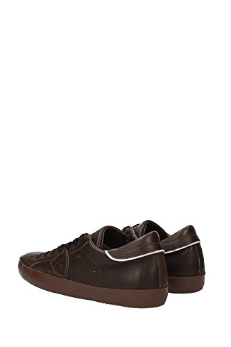 CLLURV11 Philippe Model Sneakers Uomo Pelle Marrone Marrone