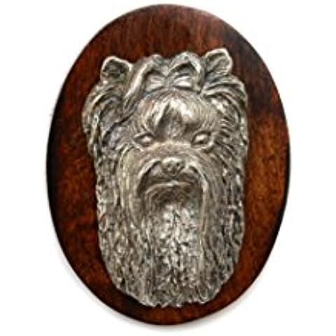 Yorkshire Terrier, Clip de perro, clip de anillo/número titular, edición limitada, ArtDog