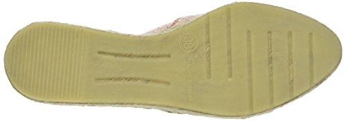 Buffalo Damen 890580 crotalo Espadrilles Pink (MONROVIA 01)