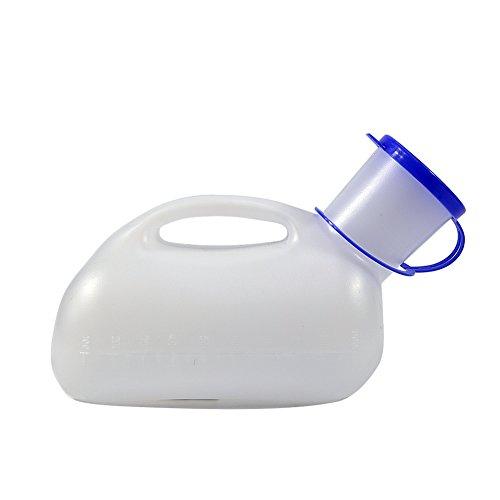 Preisvergleich Produktbild Bestforever21 Gesundheits-Urinal,  1.000 ml,  tragbar,  Camping,  Reise,  Auto,  Toilette,  Urinal,  für Herren,  1 Stück