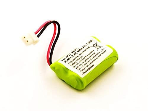 Batteria per Motorola MBP11, NiMH, 2,4 V, 400 mAh, 1,0 Wh