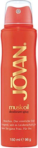 Jovan Musk Oil Deo Body V 150 ml (Musk Deodorant Body Spray)