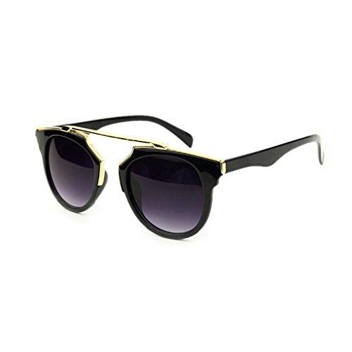 ELENXS Fashion Unisex Klassisch Metall Sonnenbrillen Aviator Brillen Brillen UV-Schutz (Brille Aviator)