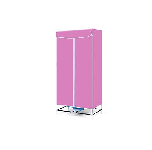JXWWN Étendoir à Linge 1000W électrique Portable - Séchoir à Linge Pliable capacité de 15kgs économiseur d'énergie - Minuteur,Pink