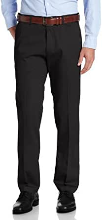 Haggar Men's Work to Weekend Slim Fit No Iron Plain Front Pant