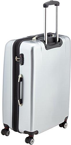 Packenger Premium Koffer 3 er-Set Stone M/L/XL, 78 cm, 68 Liter, Silber - 3