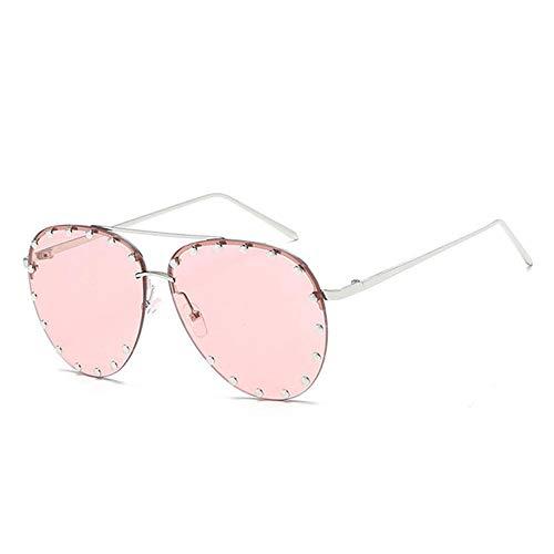 ANSKT Brillenmode Sonnenbrillen Sonnenfrauen Polarized Sunglasses-Pink
