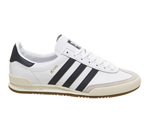 new style 8a303 1ce9f adidas Jeans, Zapatillas de Gimnasia para Hombre, Blanco FTWR White Collegiate  Navy