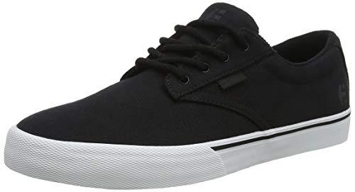 Etnies Men's Jameson Vulc Skateboarding Shoes, Black (019-Blacktop Wash 019), 10.5 UK 45.5 EU -