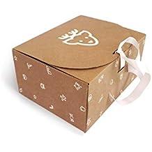 Caja de Cartón Navidad Reno T10 pack de 10 unidades.