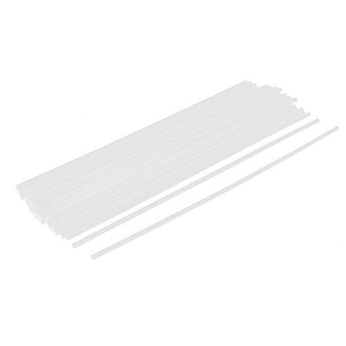 Kunststoff Hochzeit Dekoration Ballon-Halter Sticks 45Pcs Weiß (Kunststoff-stick-halter)