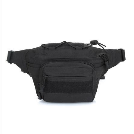 Zll/Herren Tactical Pocket Sport Outdoor Ride Trip Running Pack Handy Bag Multifunktions-Tasche Schwarz