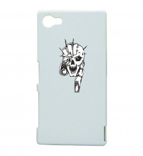 Smartphone Case teschio con Laser Hightech scheletro rocker Frecce Club Gothic Biker Skull Emo Old School per Apple Iphone 4/4S, 5/5S, 5C, 6/6S, 7& Samsung Galaxy S4, S5, S6, S6Edge