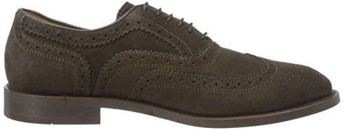Hudson London Herren Heyford Suede Brown Oxford Braun (Brown)