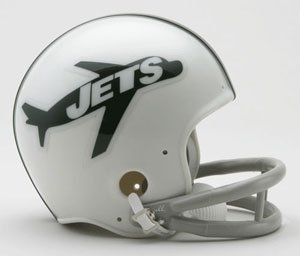 Riddell New York Jets NFL Throwback Mini Helmet (1963)