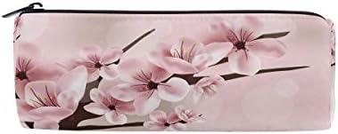 Rose Cherry Blossom Fleur Fleur Fleur Trousse Sac pochette pour enfants garçons filles adultes d'école avec fermeture à glissière ronde B07GXK9TDT | La Qualité Des Produits  ab88cf