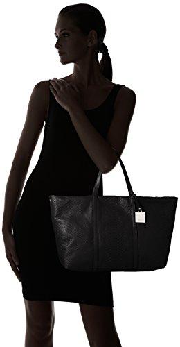 Tosca Blu - ORANGE TEA, Borsa shopper Donna Nero (Schwarz (BLACK C99))