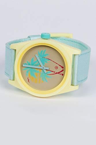 Neff Unisex Daily Wild Analog Watch Mint Lemonade Yellow