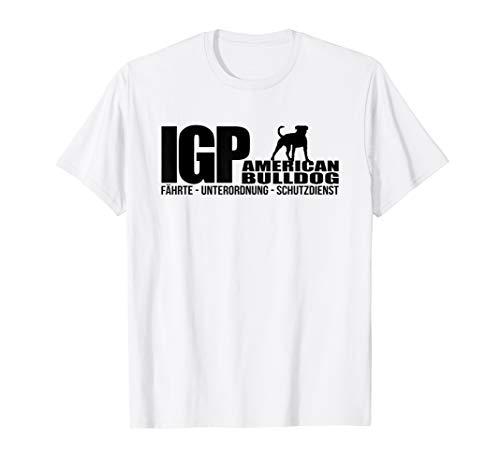 American Bulldog IGP Hundesport Hund IPO T-Shirt -