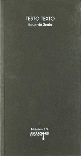 Testo Texto (Biblioteca E. Scala)