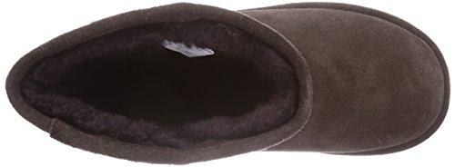 EMU Australia Brumby Lo, Bottes de ski mixte enfant Marron - Marron (chocolat)