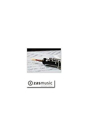 Postcard oboe/music (10 pcs) - stationery