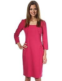 Nife Women Dress bordeaux Bordowy S31R38BO-bordowy
