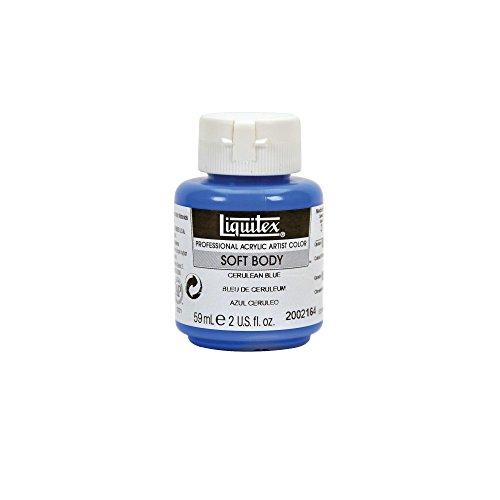 Liquitex Soft Body Acrylfarbe 59ml cerulean-blau