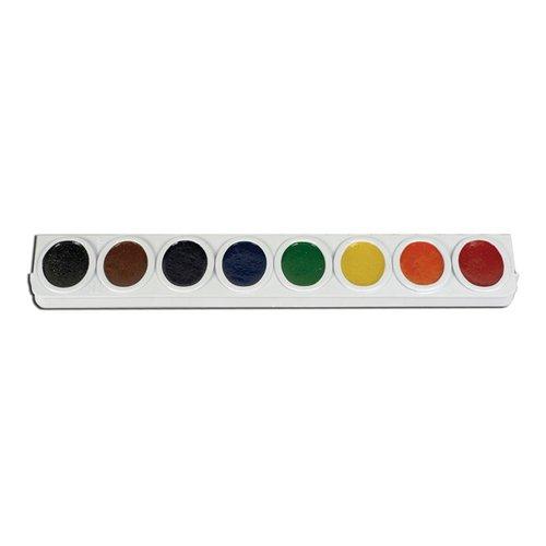 (amphoe Prang-Pfannen für Oval Watercolor Set Nachfüllstreifen (3er-Packung) Einzelpackung verschiedene Farben)
