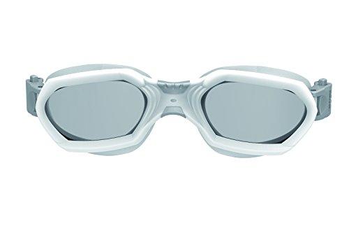 Seac Aquatech Gafas Aptas para Triatlón, Unisex adulto, Blanco Silver, M/L