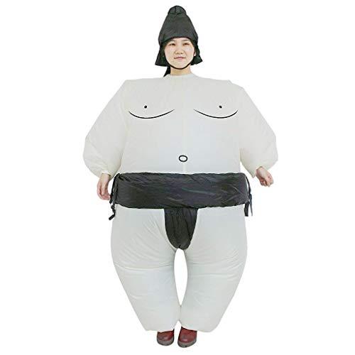 REFURBISHHOUSE Sumo Aufblasbarer Anzug Japanische Samurai-Sumo Aufblasbare Kleidung