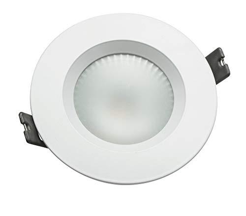 Downlight LED 10W 6000K IP44 90º empotrable redondo Osram
