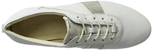 Ecco Touch Sneaker, Scarpe da Ginnastica Donna Weiß (50536WHITE/GRAVEL/WHITE)