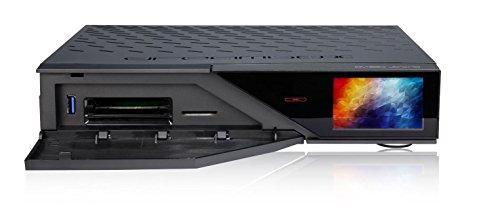 Dreambox DM920  UHD 4  K 2x DVB-C T2  DUAL TUNER Linux E2  Receiver in Black