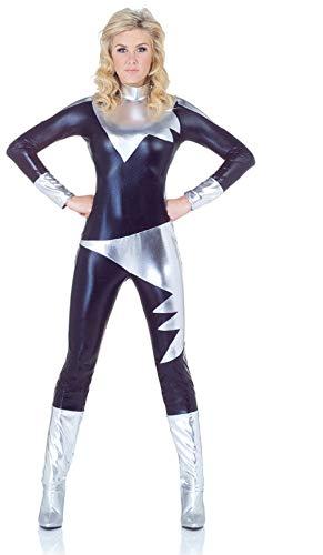 Horror-Shop Spacegirl Jumpsuit Sci-Fi Kostüm L Horror-jumpsuit