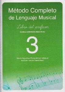 Método completo de lenguaje musical, 3 nivel. Libro del profesor