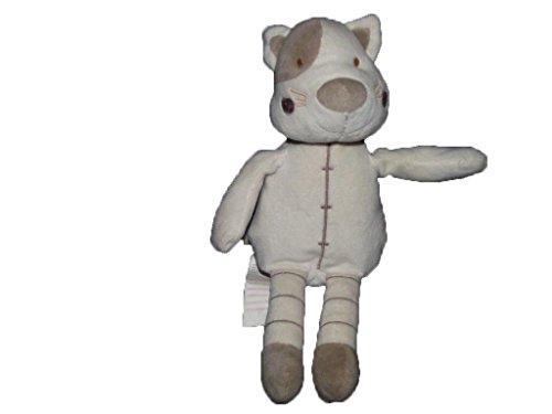 Kiabi–Doudou Kiabi gato zorro blanco y marrón...