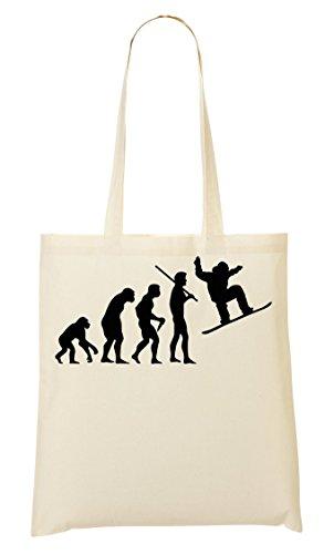 Human Evolution Snowboarding Tragetasche Einkaufstasche (Clothing Womens Burton)