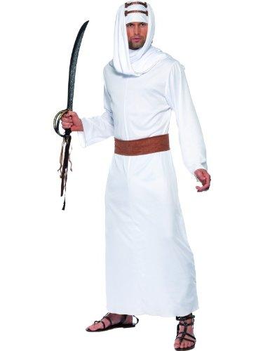 Smiffys Karneval Herren Kostüm Lawrence von Arabien Emir Größe M