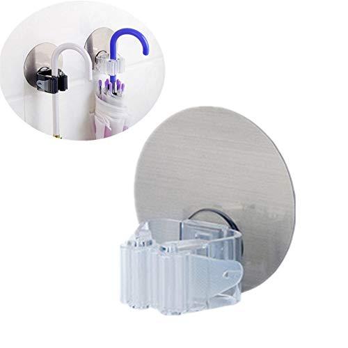 TLZR Klebriger Haken Selbstklebende Haken Multifunktion Dekoration Hängender Hut-Taschen-Schlüssel Wasserdicht Kreativ Für Küche Badezimmer Schwerlast White