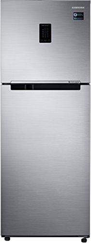 Samsung 321L 3 Star Frost Free Double Door Refrigerator (RT34M5518S8/HL, Elegant Inox, Convertible, Inverter Compressor)