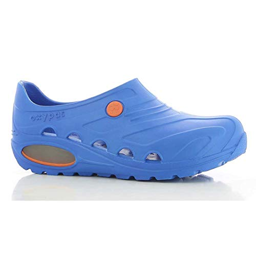 Safety Jogger Berufsschuhe Oxypas Oxyva Unisex-Erwachsene Arbeitsschuhe, Clogs, Farbe: Electric Blue, Gr: 37/38