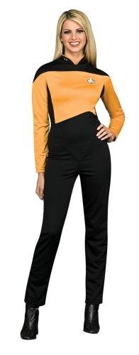 Star Trek The Next Generation Frauen Anzug gold - M