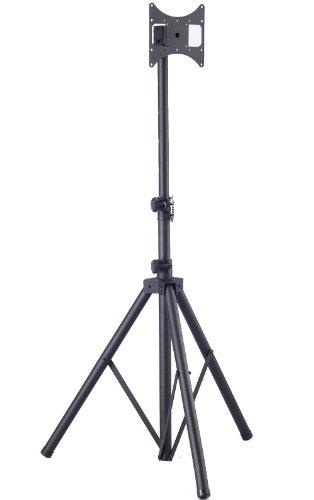 Tragbarer und mobiler TV Bodenständer mit VESA Montagehalterung Universeller mobiler Ständer für 19