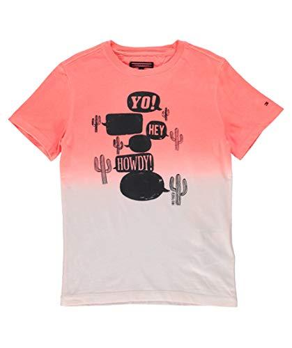Tommy Hilfiger Jungen T-Shirt orange (33) 152