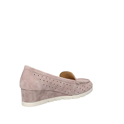 Stonefly Damen Milly 6 Goat Suede Plateaupumps Beige (Taupe Brown 075)