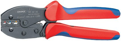 DRAPER EXPERT KNIPEX 87801 - ALICATES DE CRIMPAR (220 MM  0 5-6 MM DE CAPACIDAD)