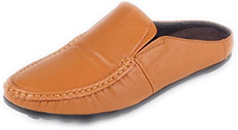 NIUMJ Zapatos Británicos Zapatos Perezosos Primavera Y Verano Casual Talón Plano Transpirable Boca Poco Profunda -